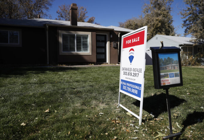 THE RHODE ISLAND home price index increased 9.8% year over year in October. / AP FILE PHOTO/DAVID ZALUBOWSKI
