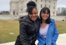 YOUTH MOVEMENT: From left, Chelcie Speaks and Michelle St. Onge are regular participants in Rhode Island for Community and Justice's multiple youth programs that promote community empowerment. / COURTESY RHODE ISLAND FOR COMMUNITY AND JUSTICE