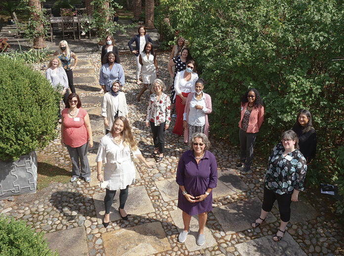 DOING MORE WITH LESS: With a lean staff, Women's Fund of Rhode Island focuses on its mission through advocacy, grant-making, informal education sessions and intensive grassroots training.COURTESY WOMEN'S FUND OF RHODE ISLAND