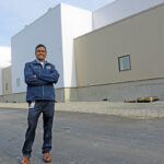 JOBS COMING: Amgen Rhode Island's new biomanufacturing plant in West Greenwich is expected to add 150 high-paying jobs there. Pictured is Rohan Persaud, Amgen's plant manager and executive director. / PBN FILE PHOTO/ELIZABETH GRAHAM