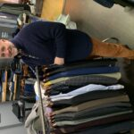MARC STREISAND, owner of Providence-based Marc Allen Fine Clothiers, will donate $100,000 in clothes to nonprofits to distribute to people in need during the holidays. / COURTESY MARC ALLEN FINE CLOTHIERS