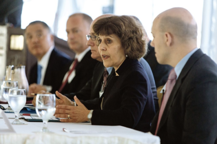 RHODE ISLAND Health Insurance Commissioner Marie L. Ganim plans to retire in early January. / PBN FILE PHOTO/RUPERT WHITELEY