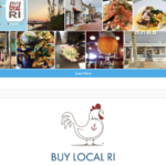 LOCAL REGIONAL TOURISM districts, the Rhode Island Foundation and BankNewport have partnered to relaunch the BuyLocalRI campaign and website. Above, a screenshot of BuyLocalRI.org.