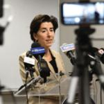 "GOV. GINA M. Raimondo announced Thursday during her weekly coronavirus briefing that Rhode Island's ""pause"" will be extended through Dec. 20./ PBN FILE PHOTO/ ELIZABETH GRAHAM"