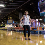 "SUSAN CHASE, general manager of United Skates of America in East Providence, says she plans to extend the facility's hours of operation to offset a loss of customers due to capacity restrictions that will be in place once she reopens following the state's economic ""pause."" / PBN FILE PHOTO/RUPERT WHITELEY"