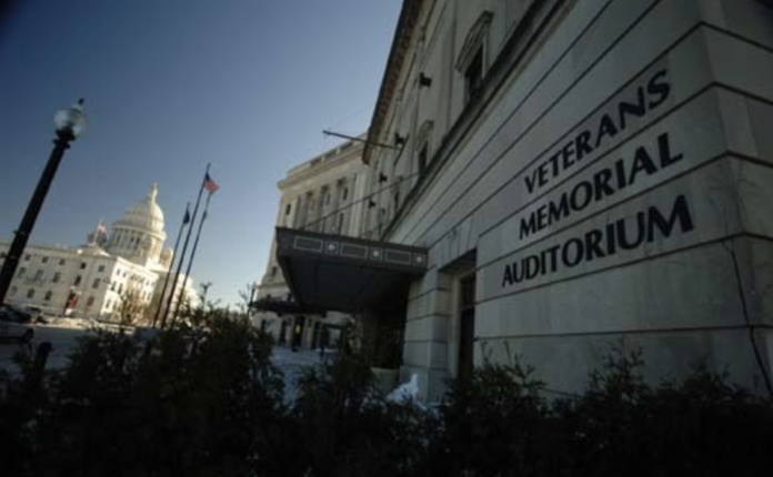 R.I. HOUSE SPEAKER nominee K. Joseph Shekarchi confirmed Tuesday that the House will convene in January at the Veterans Memorial Auditorium. / PBN FILE PHOTO