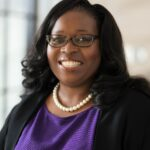 DEBRENNA LAFA AGBENYIGA has been appointed as the new provost and vice president of academic affairs at Stonehill College. / COURTESY STONEHILL COLLEGE