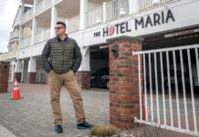 STILL GOING STRONG: John Bellone, owner of The Breezeway Resort, The Hotel Maria, pictured, and Maria's Seaside Cafe in Westerly, says in his 50 years as a customer of The Washington Trust Co., he's never deferred a loan payment and has continued to meet monthly payments for the mortgages on his commercial properties throughout the pandemic, thanks to a strong business in a limited season. / PBN PHOTO/MICHAEL SALERNO
