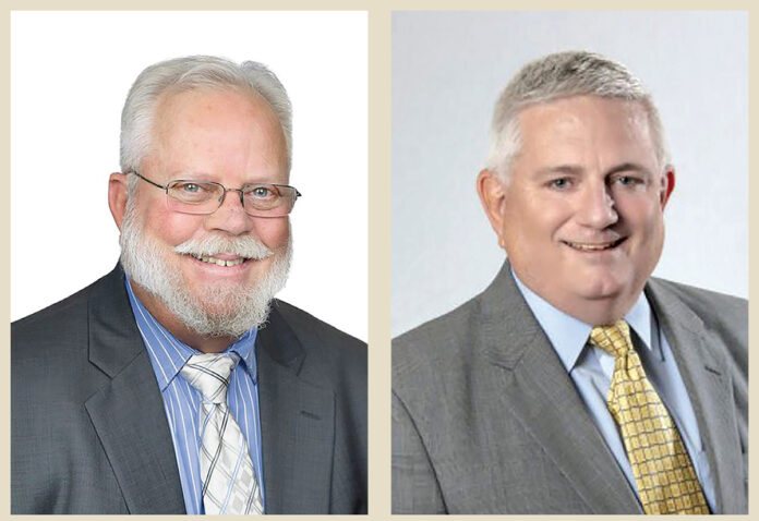 EXECUTIVE SESSION: One SouthCoast Chamber of Commerce CEOs Rick Kidder, left, and Mike O'Sullivan will have an online conversation for members on Feb. 4. / COURTESY ONE SOUTHCOAST CHAMBER OF COMMERCE
