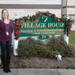 FINANCIAL WOES: Jennifer Romagnolo, administrator at Village House Nursing & Rehabilitation Center in Newport, says she is concerned about the effects of a new minimum-staffing mandate state officials are drafting. / PBN PHOTO/TRACY JENKINS