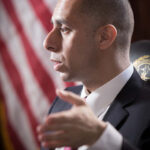 PROVIDENCE MAYOR JORGE O. ELORZA says the city has reached a tentative deal with the police union on pension contributions and wage increases. / PBN FILE PHOTO/STEPHANIE ALVAREZ EWENS