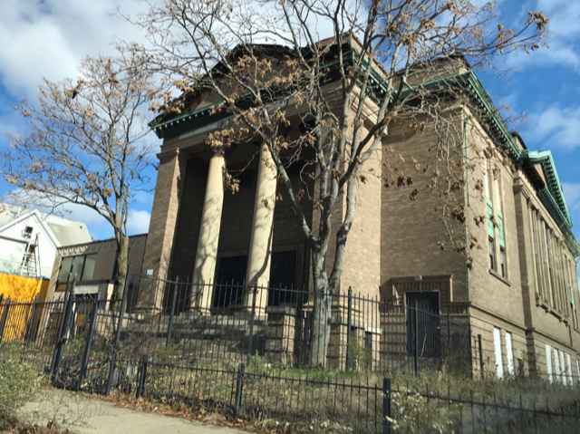 THE BROAD STREET SYNAGOGUE, located at 688 Broad St.,was one of the several properties included on the Providence Preservation Society's 2021 Most Endangered Properties list. / COURTESY PROVIDENCE PRESERVATION SOCIETY