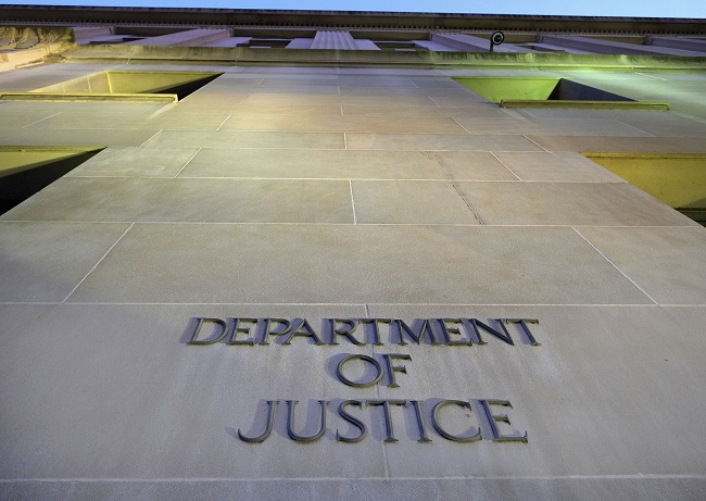 THE U.S. DEPARTMENT OF JUSTICE announced that a local business owner was arraigned Wednesday in federal court in Providence on charges of submitting false export information and smuggling automobiles to Lebanon. / AP FILE PHOTO/J. DAVID AKE