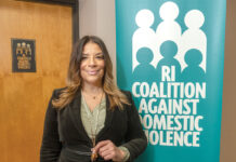 ALWAYS AVAILABLE: Tonya Harris, executive director of the Rhode Island Coalition Against Domestic Violence, said the group's shelters remained open during the COVID-19 pandemic to provide people a safe haven if they were fleeing a violent situation, while the organization's 24-hour hotline remained on call. / PBN PHOTO/MICHAEL SALERNO