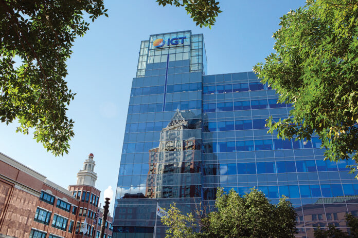 IGT POSTED a $838.7 million loss in 2020. / PBN FILE PHOTO RUPERT WHITELEY