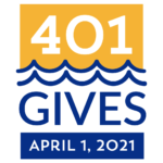 THE ANNUAL 401 GIVES DAY, scheduled for April 1 and run by the United Way of Rhode Island, hopes to raise $1.5 million this year to support local nonprofits.