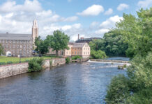 THE 1793 OLD SLATER MILL was one of three historic buildings in Pawtucket acquired by the U.S. National Park Service from the Old Slater Mill Association. / PBN FILE PHOTO/MICHAEL SALERNO