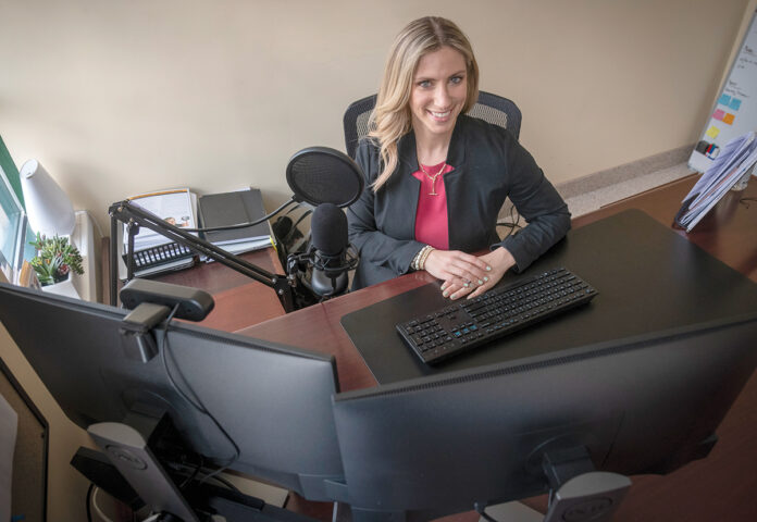 SEMI-RETIREMENT ADVISER: Donna Sowa Allard, vice president of Sowa Financial Group Inc., says many of her clients have prepped for retirement but are unwilling to leave the workforce entirely. / PBN PHOTO/MICHAEL SALERNO