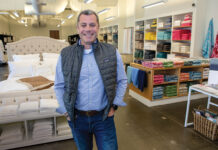 SMOOTH SAILING: Stuart Kiely, vice president of digital strategy for John Matouk & Co. in Fall River, steered a two-year digital transformation of the company's operations, which allowed it to boost retail sales and gross revenues in 2020. / PBN PHOTO/KATE WHITNEY LUCEY