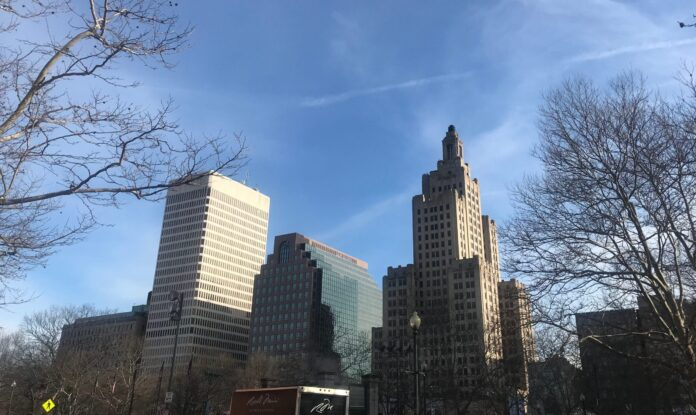 THE DOWNTOWN PROVIDENCE office market had a vacancy rate of 14.5% in the fourth quarter of 2020, according to CBRE Inc. / PBN FILE PHOTO/CHRIS BERGNEHEIM