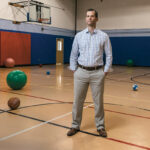 JUGGLING ACT: Christopher Earle, director of information systems for the YMCA of Greater Providence, has been called upon to perform duties beyond his core ­responsibilities. / PBN PHOTO/RUPERT WHITELEY