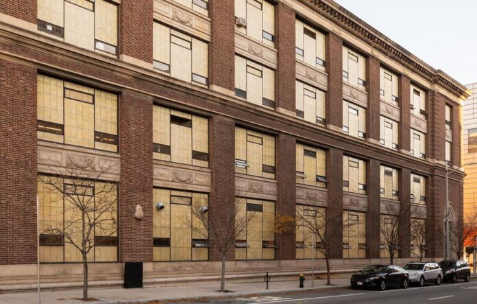 THE RHODE ISLAND SCHOOL of Design has received a $4 million anonymous gift to help renovate the Jesse Metcalf Building. / COURTESY JO SITTENFELD
