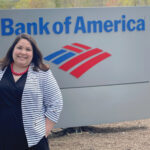 TALENT SCOUT: Jess Hutchinson, a Bank of America Corp. vice president, provides career guidance to employees from Maine to Florida so the bank can retain its exceptional personnel. / COURTESY BANK OF AMERICA CORP.