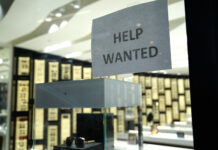 THE RHODE ISLAND unemployment rate decline of 0.5 percentage points month to month tied for the largest decline in the country in May. / AP FILE PHOTO/LYNNE SLADKY
