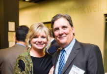SANDRA AND CRAIG D. STEENECK have provided a $1.3 million gift to the University of Rhode Island to support the university's College of Business. / COURTESY UNIVERSITY OF RHODE ISLAND