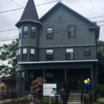 A RENOVATED HISTORICAL home on Webster Avenue in Providence is among 14 newly rehabilitated buildings that will provide apartments for 30 families as part of Crossroads Family Housing. / COURTESY RI HOUSING