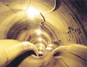 Similarities have been drawn between Fall River's<br>tunneling project and the one in Providence.