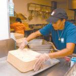 Lillian Sanchez, an Amos House employee, works at a Pawtucket charter school.
