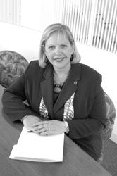 Region Verizon president Donna C. Cupelo, a Providence College graduate, discusses the future of telecommunications.