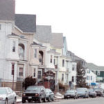 Photo by Brian McDonaldLandlords of multifamily homes in Fall River, like these on Plymouth Avenue, saw dramatic increases in their '05 tax assessments.