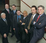 PHOTO BY DAVE GILSTEIN PHOTOGRAPHY A Group of former Holland & Knight attorneys started their own firm on March 1, Pannone Lopes & Devereaux.
