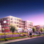 THE AGENCY and its 46-person staff are the first to occupy the American Locomotive Works (ALCO) project, a mixed-use complex on a former industrial site in Olneyville. /