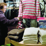 SALES OF winter apparel were hurt by the unseasonably warm weather during the holiday season, but they were still 3 percent higher than last year. /