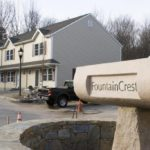 FOUNTAINCREST, a 76-unit condo complex south of Route 1, is one of the highest-profile new developments in the town. /