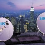 SATELLITE dishes on a rooftop in New York City, where Sirius has its headquarters in Rockefeller Center. /