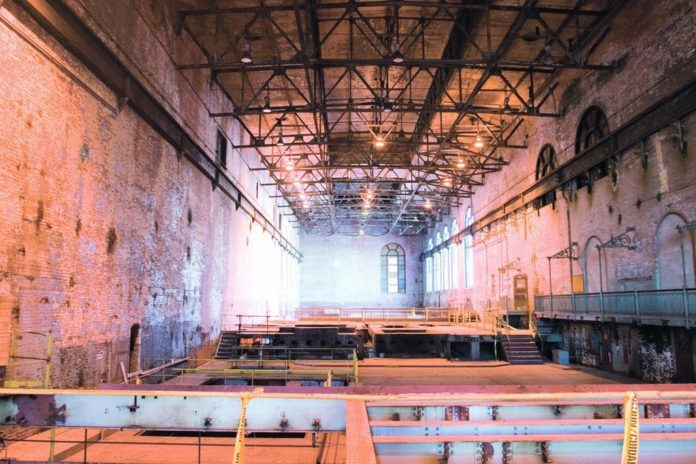 THE TURBINE HALL in the former South Street power station will house part of the Heritage Harbor Museum. Developer Struever Bros. Eccles & Rouse is also carving out retail and office spaces within the building. /