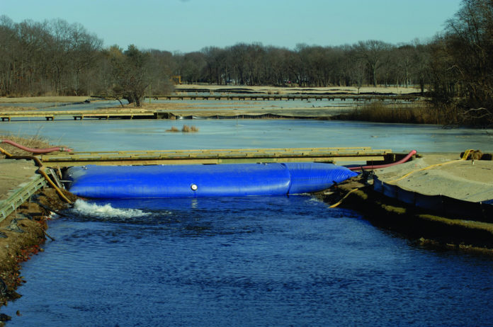 AFTER: A $7.7 million project that brought together Rhode Island Country Club, Save the Bay and government officials has removed the hated reeds and restored the marsh. /