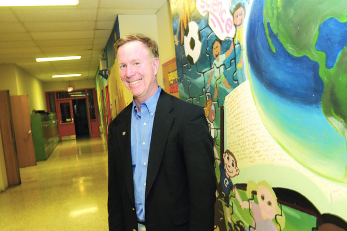 DAN CORLEY started Community Prep in 1984 to improve educational opportunities for neighborhood children, including his own. /