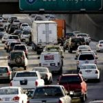 GRIDLOCKED: Traffic comes to a halt in September on Interstate 5 in Sacramento, Calif.  The state was one of 12 that joined in suing the EPA over its decision not to regulate vehicle emissions of greenhouse gases. /