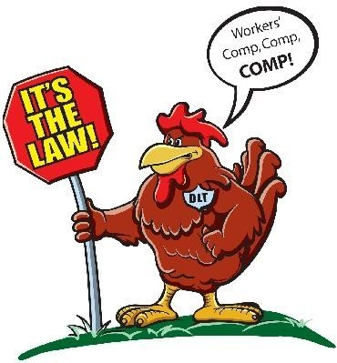 THIS PLUCKY Rhode Island red is the mascot of the DLT's multimedia campaign. /