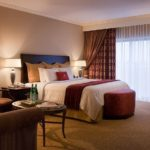THE CROWNE PLAZA has been completely redecorated and upgraded, with a new earth-tone color scheme and furniture custom-made by an upscale Toronto company. /