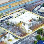 AN AERIAL VIEW of the former Hope Global manufacturing facility that Precision Park Partners has just purchased shows how close the property is to Interstate 295. /