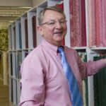 """DAVE TAYLOR, owner of Lorraine Fabrics since 1997,  doesn't know exactly how many types of fabric the store sells. It's """"thousands and thousands,"""" he says, far more than most competitors could ever try to match. /"""