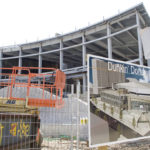 GETTING TOURISTS to return to the state yearly is part of what tourism leaders are hoping to do via projects including the new lobby of the Dunkin? Donuts Center, now under construction. /