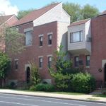 BUILT IN THE MID-1970s, the Moshassuck Square Apartments were designed by architect William Warner. /
