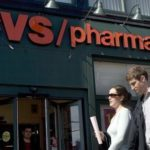 PEDESTRIANS stroll past a CVS/pharmacy in Cambridge, Mass., in May 2006. Compared with the same period last year, the company said, same-store sales in the first 21 weeks of 2007 increased 6.8 percent. /